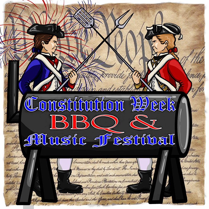 This is the official logo for the US Constitution Week BBQ and Music Festival. CLICKING HERE will take you to the web page for the Kansas City Barbeque Society