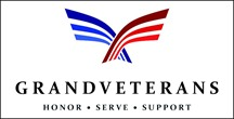 Sponsor • Constitution Week, Grand Lake, Colorado: Logo for the Grand County Veterans Association.