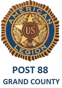 Sponsor • Constitution Week, Grand Lake, Colorado: Logo for the American Legion Post #88, Grand County