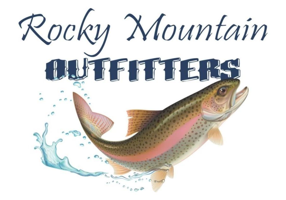 Sponsor • Constitution Week, Grand Lake, Colorado: Logo for the Rocky Mountain Outfitters.
